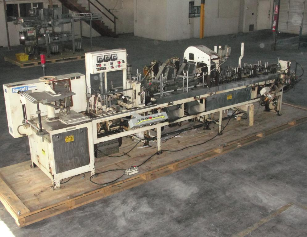 Form Fill and Seal KHS Klockner Bartelt horizontal form fill seal model IM7-14, 6 lane Eagle scales, up to 100 ppm1