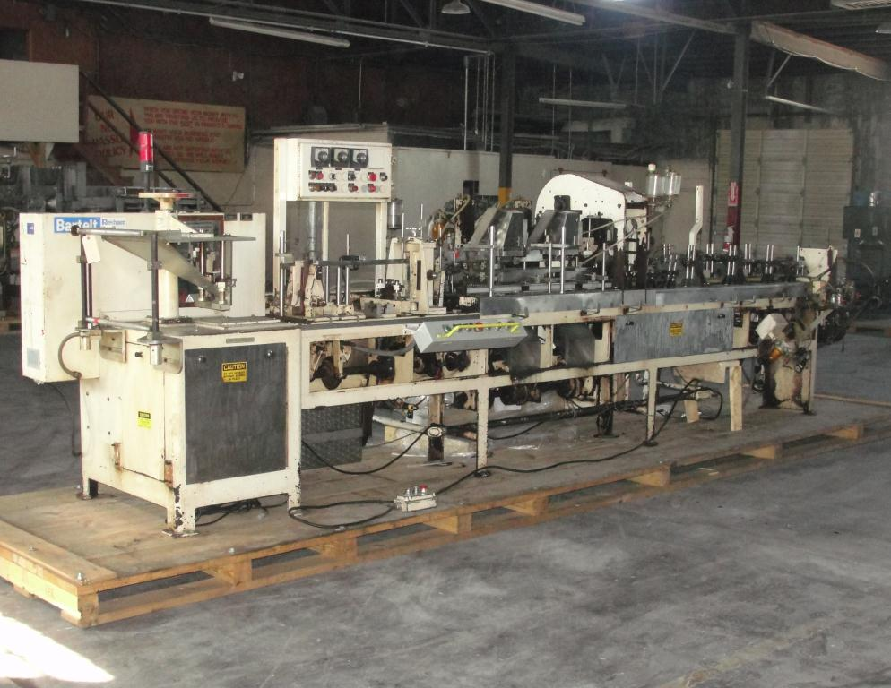 Form Fill and Seal KHS Klockner Bartelt horizontal form fill seal model IM7-14, 6 lane Eagle scales, up to 100 ppm2