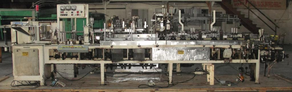 Form Fill and Seal KHS Klockner Bartelt horizontal form fill seal model IM7-14, 6 lane Eagle scales, up to 100 ppm4