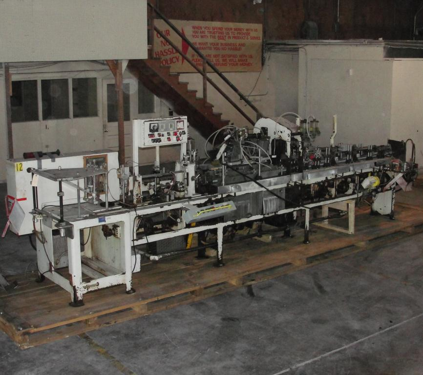 Form Fill and Seal KHS Klockner Bartelt horizontal form fill seal model IM7-14, 6 lane Eagle scales, up to 100 ppm
