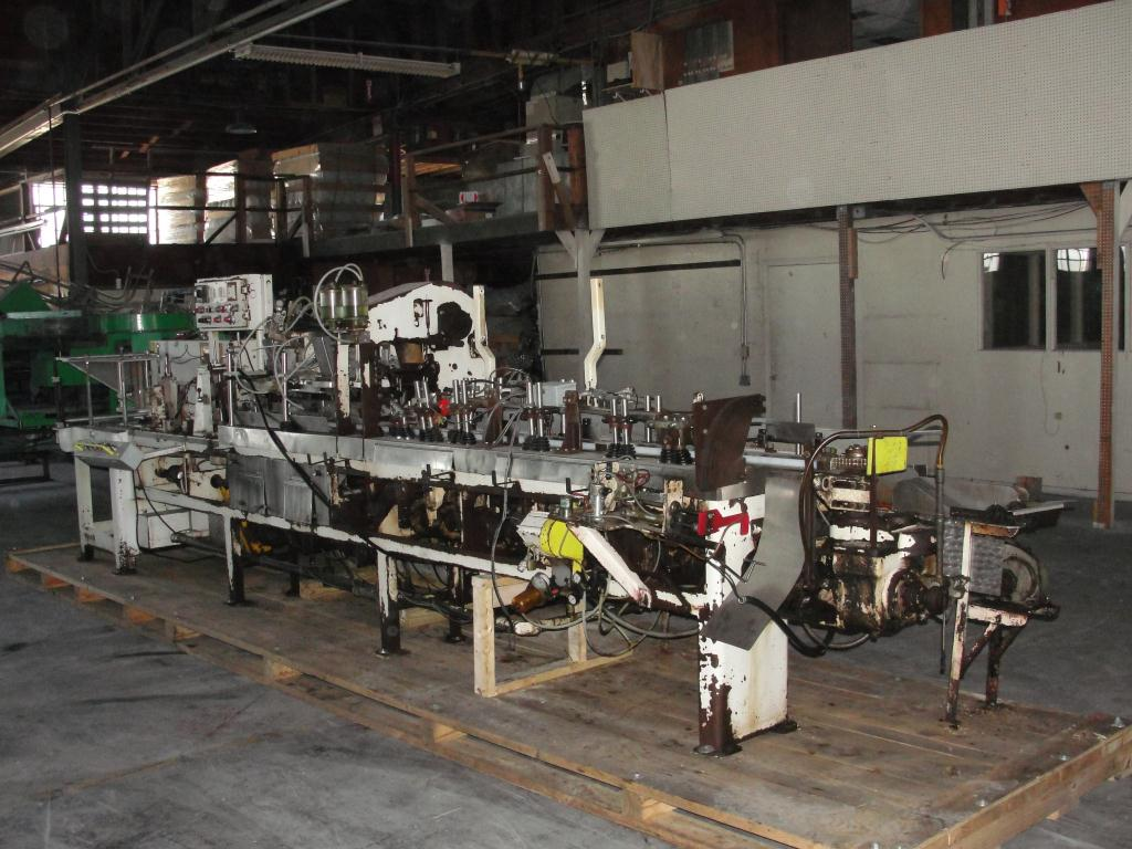 Form Fill and Seal KHS Klockner Bartelt horizontal form fill seal model IM7-14, up to 100 ppm3