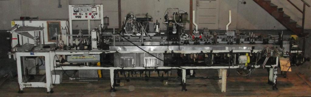 Form Fill and Seal KHS Klockner Bartelt horizontal form fill seal model IM7-14, up to 100 ppm9