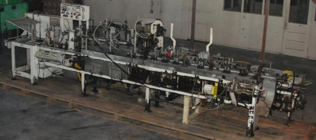 Form Fill and Seal KHS Klockner Bartelt horizontal form fill seal model IM7-14, up to 100 ppm10