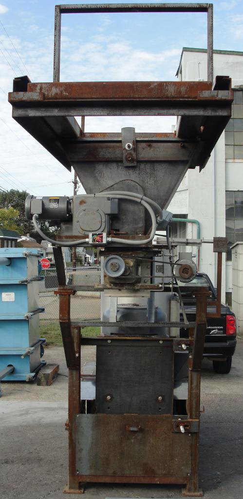 Granulator 200 hp densifier 24 cu ft chamber 1 rotating blade6