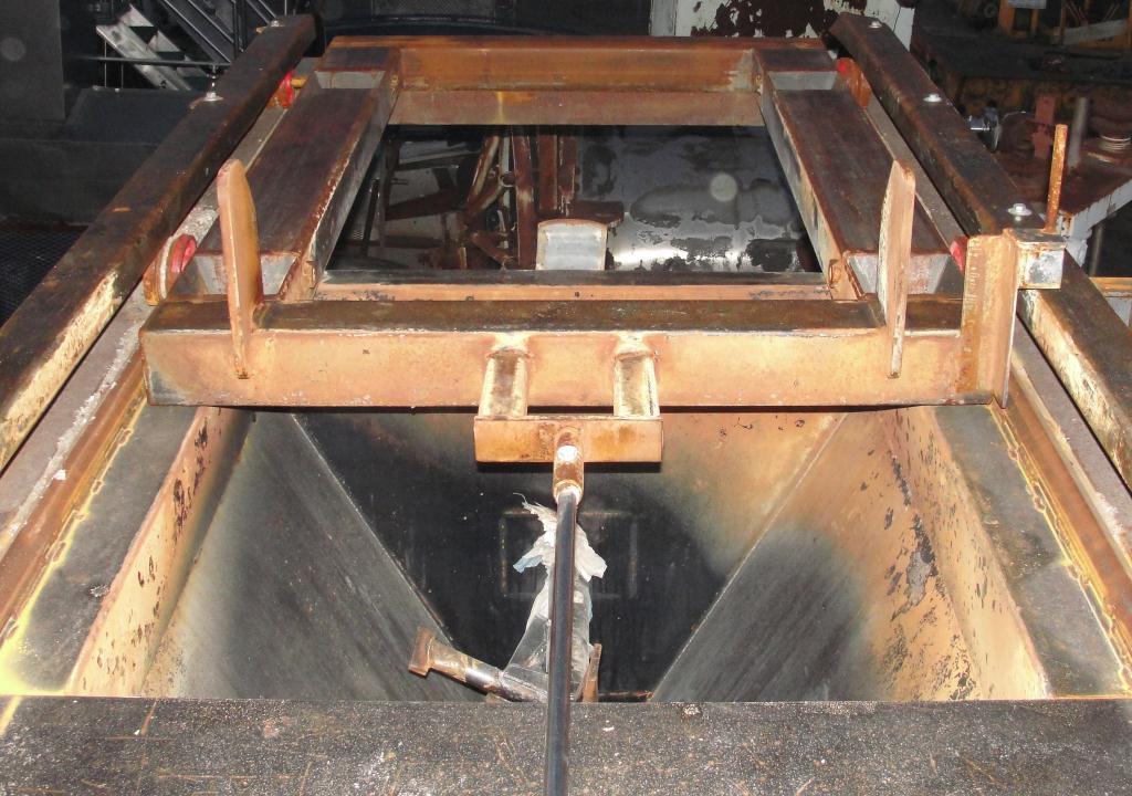 Granulator 200 hp densifier 24 cu ft chamber 1 rotating blade8