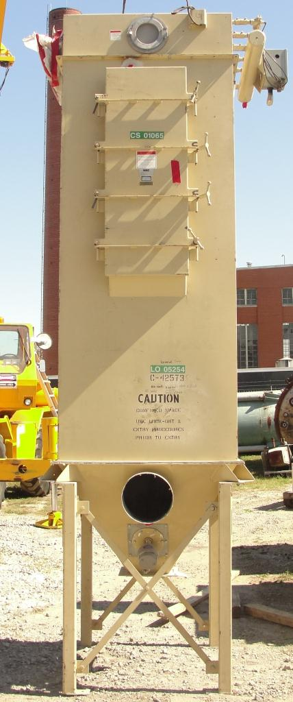 Dust Collector 307 sq.ft. MAC Equipment Co. reverse pulse jet dust collector2