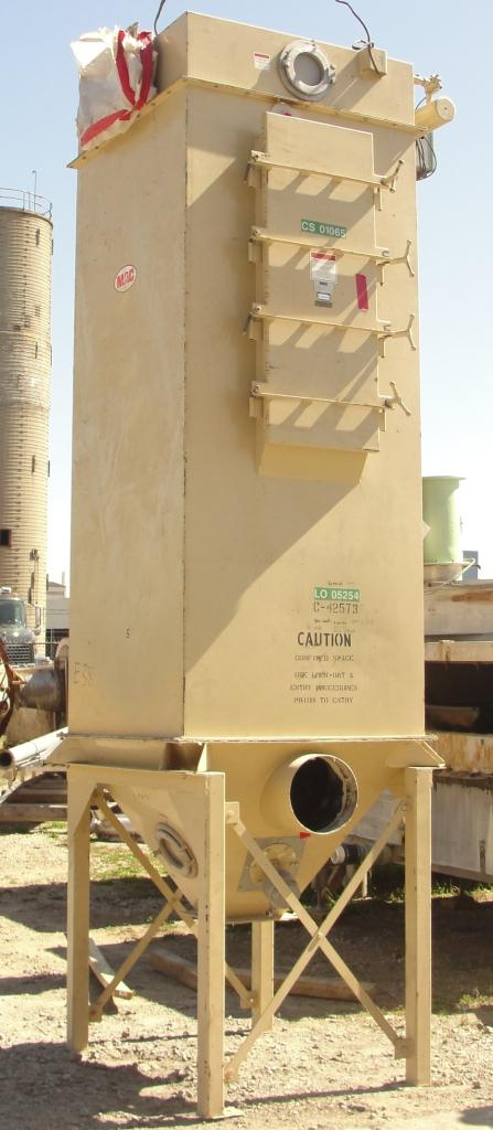 Dust Collector 307 sq.ft. MAC Equipment Co. reverse pulse jet dust collector3