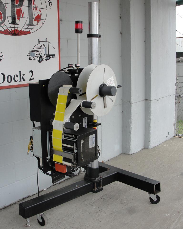 Labeler PCM Image-Tek pressure sensitive labeler model Online 9000 Series, tamp-on, 600 per min2