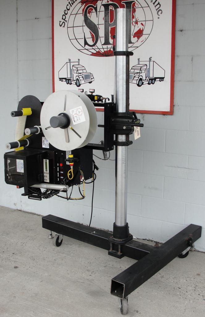 Labeler PCM Image-Tek pressure sensitive labeler model Online 9000 Series, tamp-on, 600 per min3