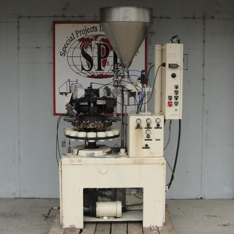 Filler single piston filling heads MRM Elgin tube filler model E1