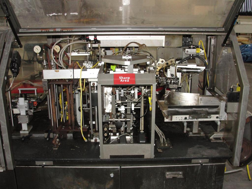 Form Fill and Seal KHS Klockner Bartelt horizontal form fill seal model RPM, up to 8 wide x 14 tall pouches, zipper applicator 75 ppm10