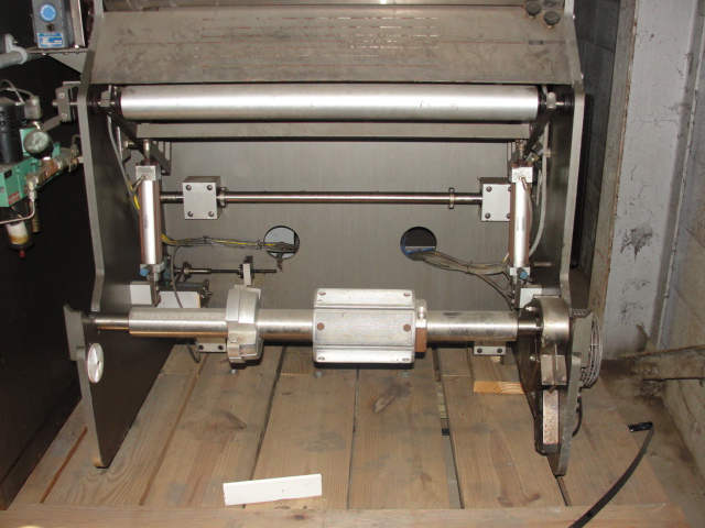 Form Fill and Seal KHS Klockner Bartelt horizontal form fill seal model RPM, up to 8 wide x 14 tall pouches, zipper applicator 75 ppm20