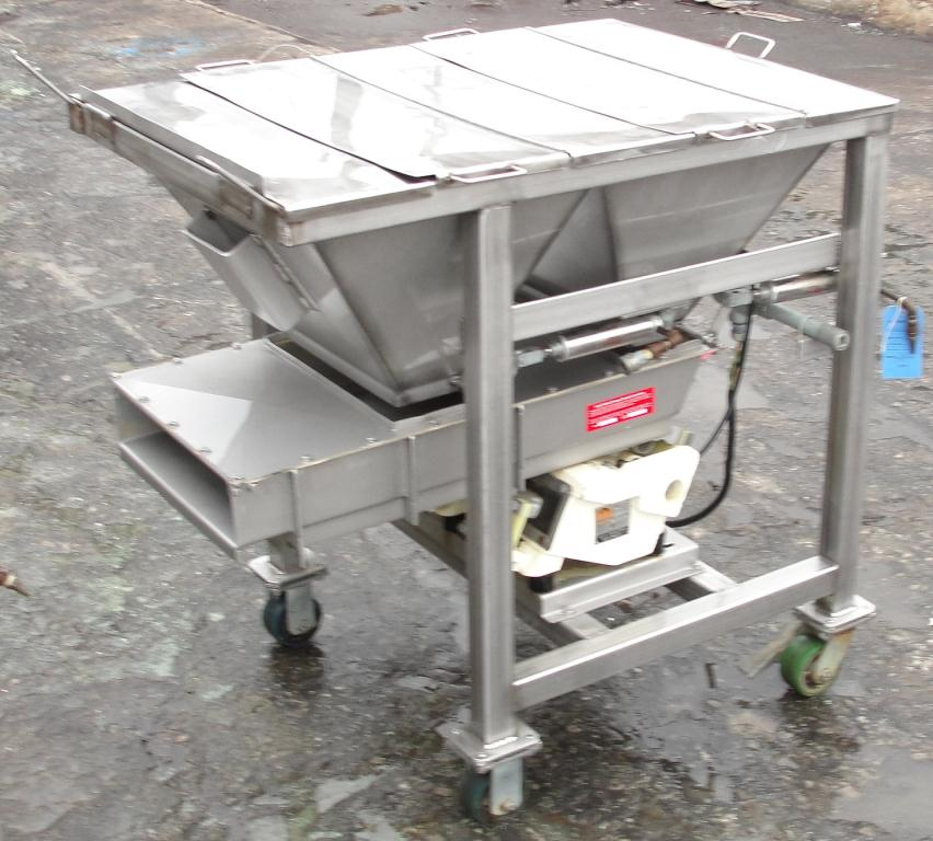 Feeder Eriez vibratory feeder model 484, Stainless Steel Contact Parts4