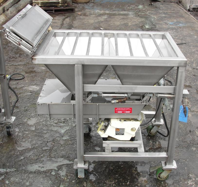Feeder Eriez vibratory feeder model 484, Stainless Steel Contact Parts5