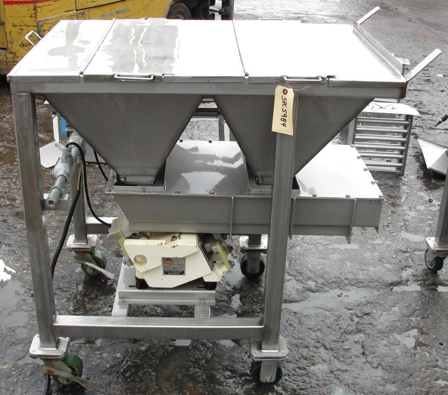 Feeder Eriez vibratory feeder model 484, Stainless Steel Contact Parts6
