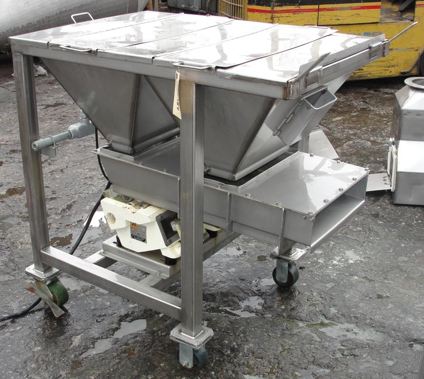 Feeder Eriez vibratory feeder model 484, Stainless Steel Contact Parts7