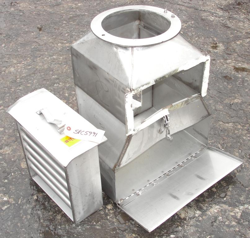 Filtration Equipment magnetic separator, 15 x 19.25 gravity inline3