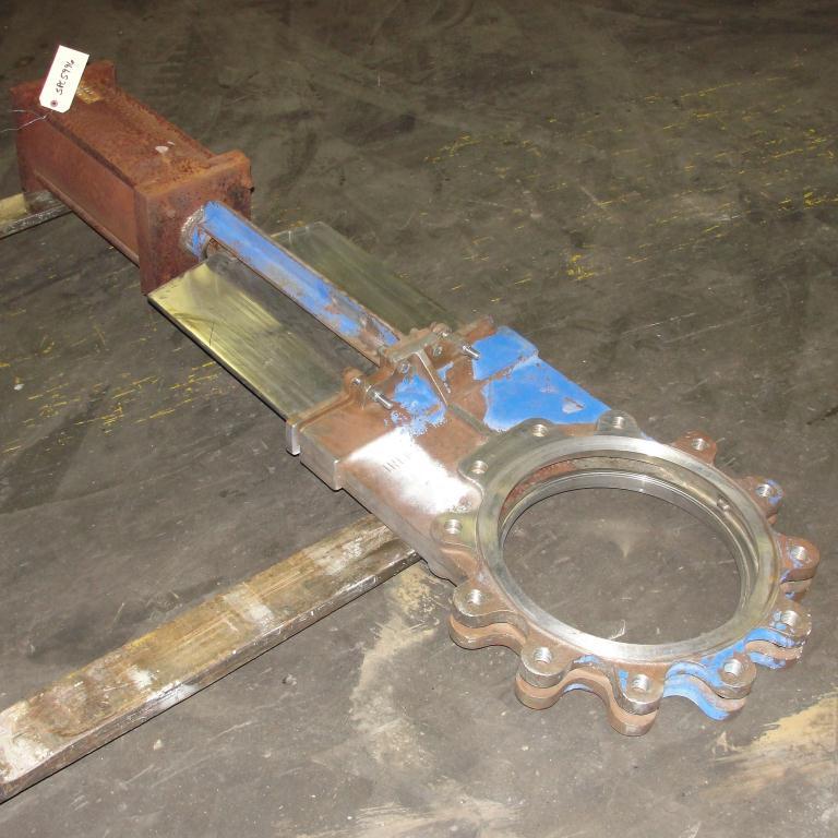 Valve 14 Hilton Valve Inc. gate valve, pneumatic, Stainless Steel Contact Parts1