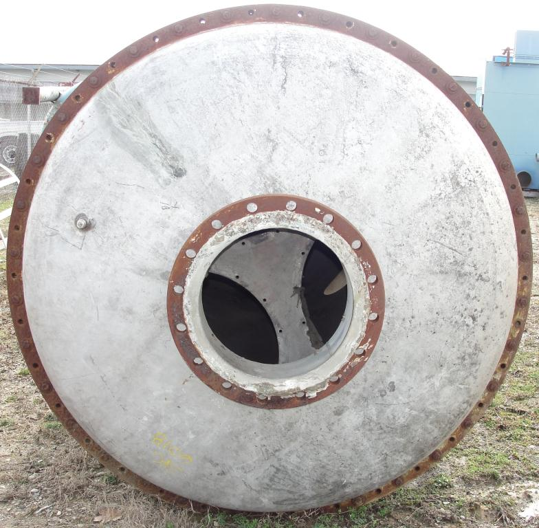 Tank 2000 gallon vertical tank, Stainless Steel, dish bottom5