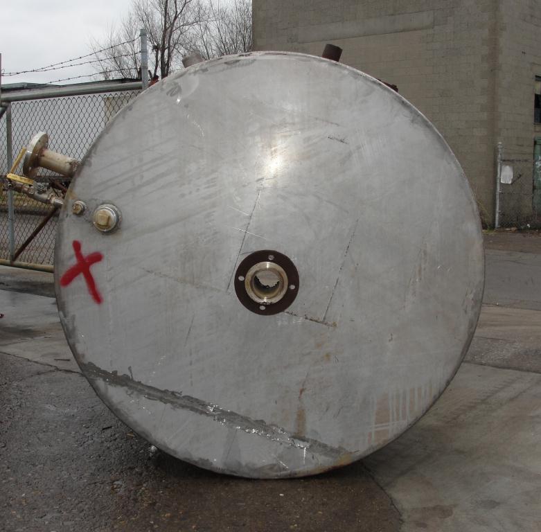 Tank 700 gallon vertical tank, Stainless Steel, flat bottom5