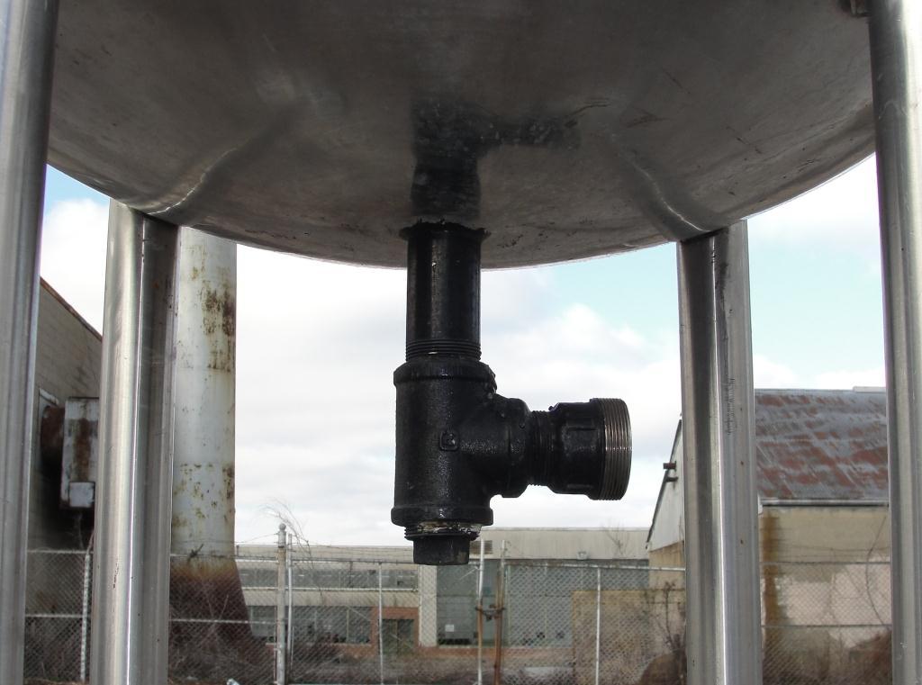 Filtration Equipment 110 gallon Brighton basket strainer (single), Stainless Steel4
