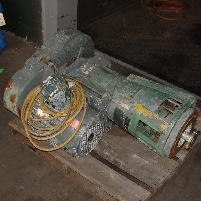Agitator 10 hp Lightnin side mount agitator model 108VSEDS103