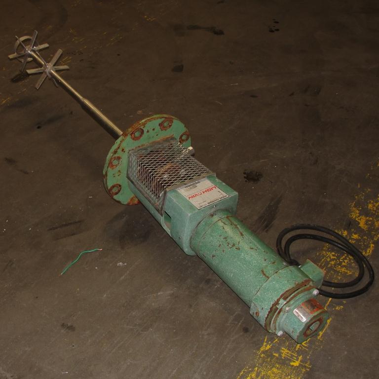 Agitator .75 hp Lightnin top mount agitator model N33G-75LS3