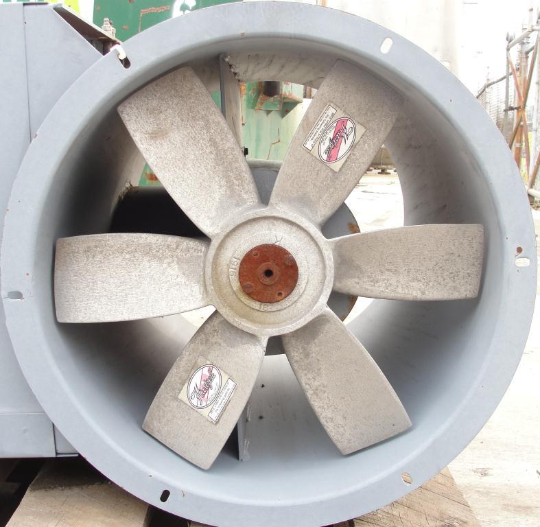 Blower 3810 cfm centrifugal fan Hartzell Fan Inc model 31-18-143, 1 hp, NA4