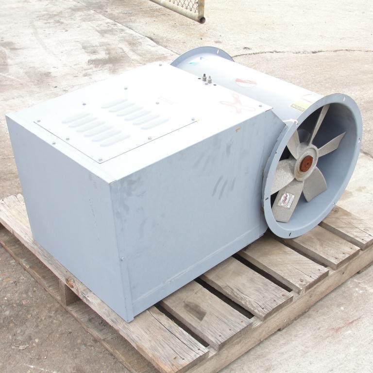 Blower 3810 cfm centrifugal fan Hartzell Fan Inc model 31-18-143, 1 hp, NA5