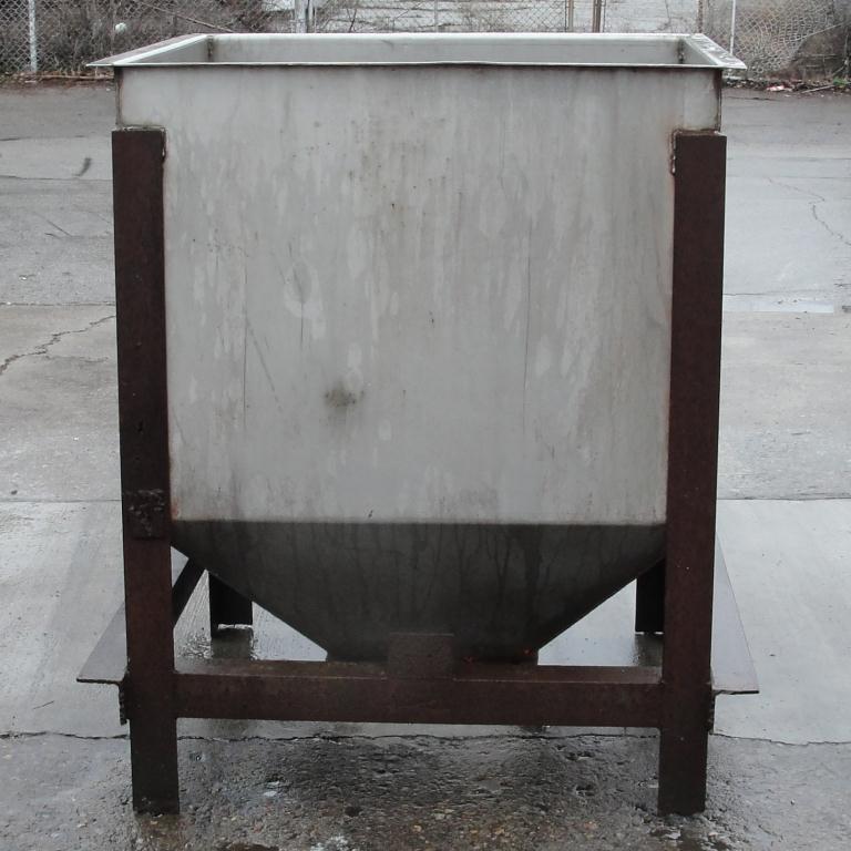 Bin 25 cu.ft., bulk storage bin, Stainless Steel1