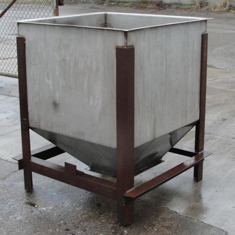 Bin 25 cu.ft., bulk storage bin, Stainless Steel2