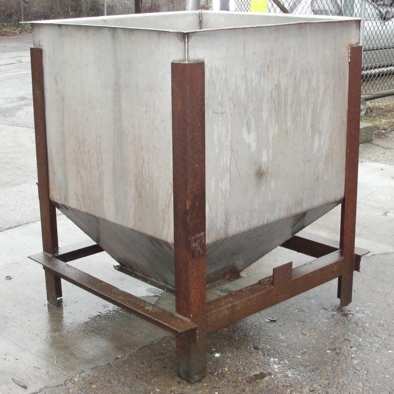Bin 25 cu.ft., bulk storage bin, Stainless Steel3