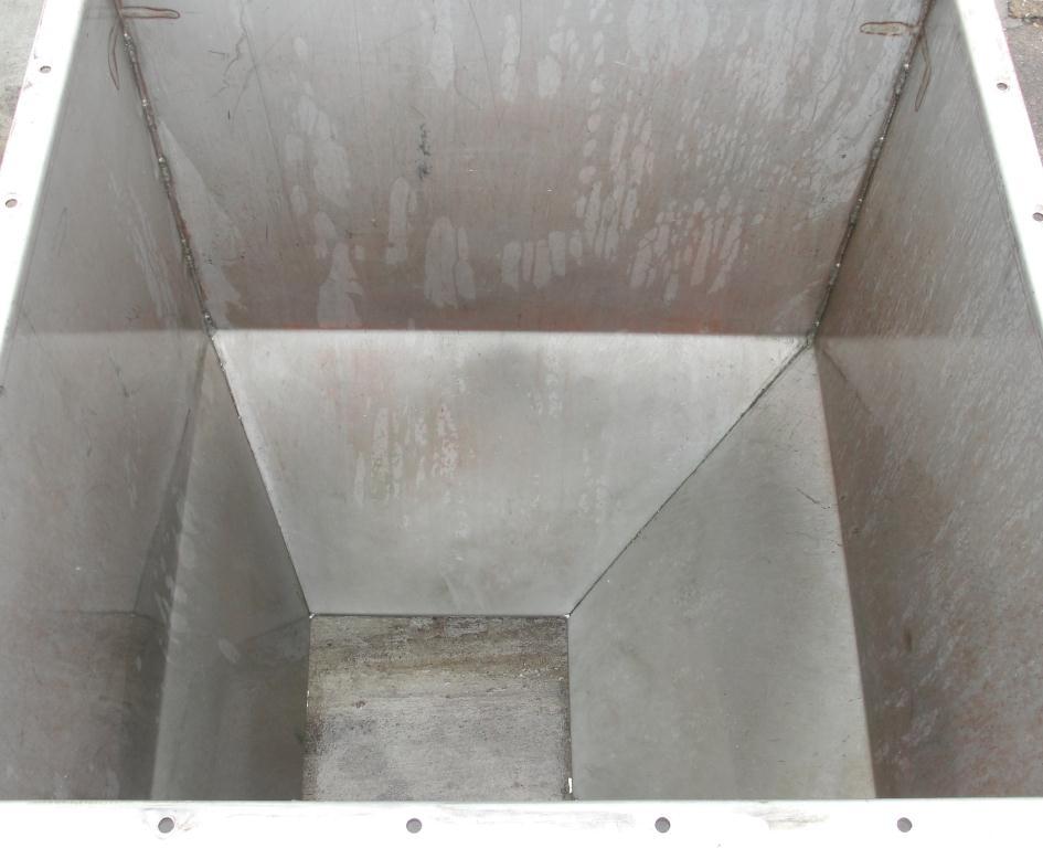 Bin 25 cu.ft., bulk storage bin, Stainless Steel4