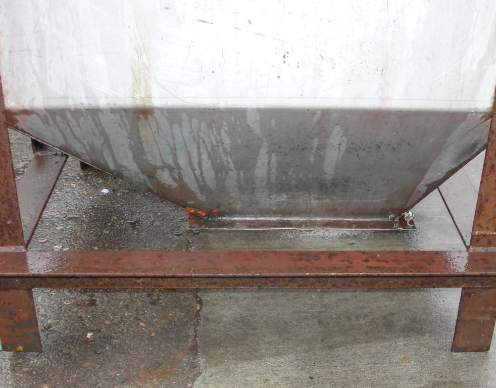 Bin 25 cu.ft., bulk storage bin, Stainless Steel5