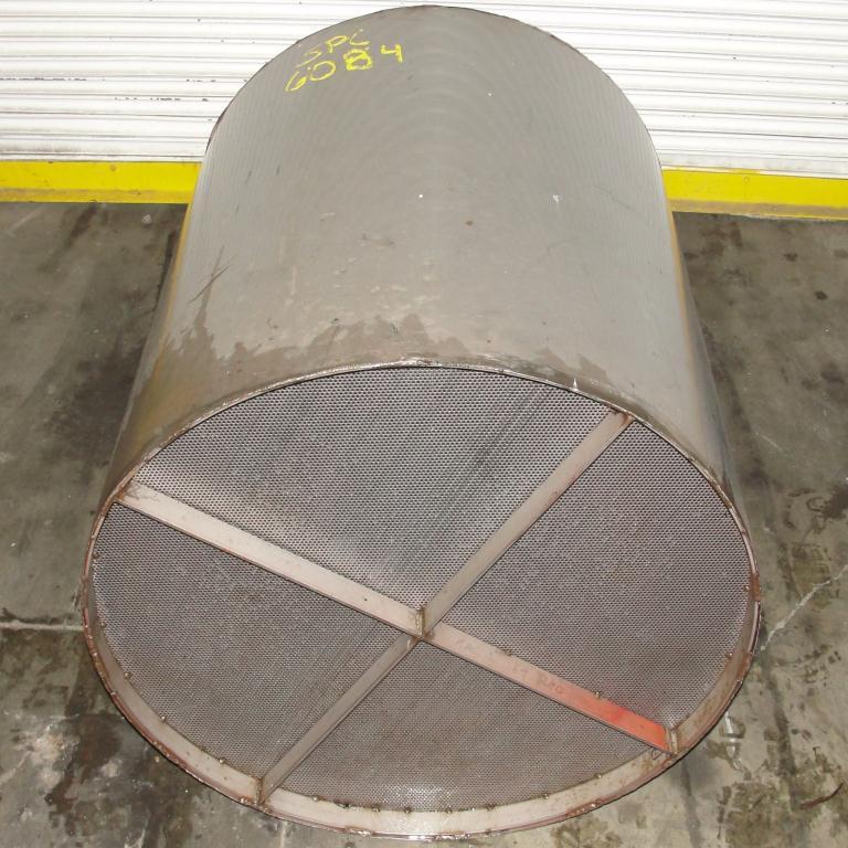 Filtration Equipment 100 gallon basket strainer (single), Stainless Steel4