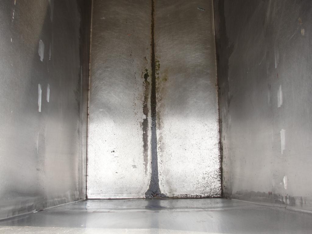 Tank 1000 gallon vertical tank, Stainless Steel, slope bottom3