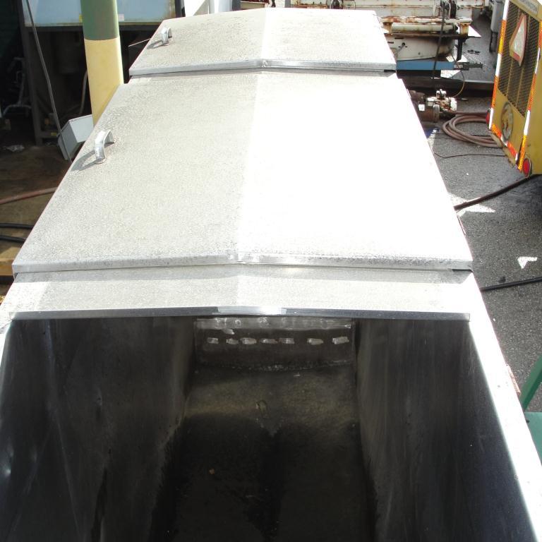 Tank 1000 gallon vertical tank, Stainless Steel, slope bottom4