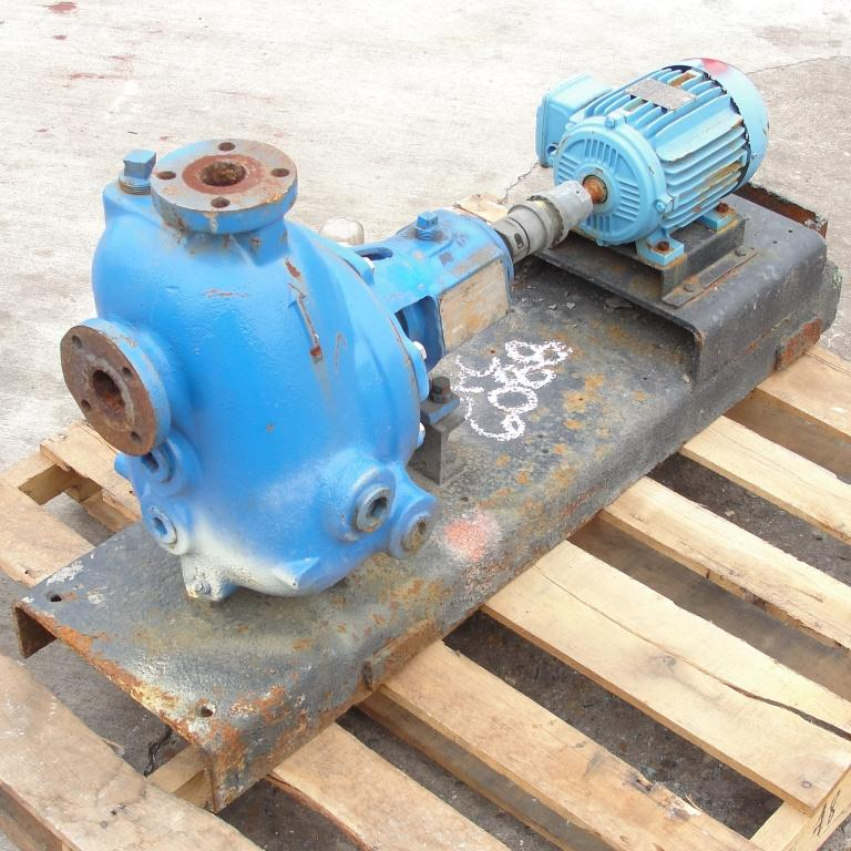 Pump 1.5 x 1.5 x 8 Dean Brothers Pumps Inc centrifugal pump, 2 hp, Cast Iron1