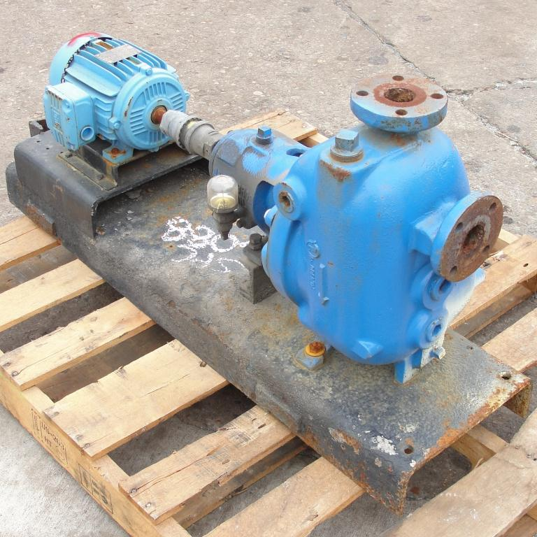 Pump 1.5 x 1.5 x 8 Dean Brothers Pumps Inc centrifugal pump, 2 hp, Cast Iron2