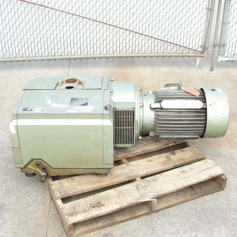 Pump 283 cfm Becker Pumps Corp vacuum pump model U4.400 SA/K 15 hp, Aluminum2
