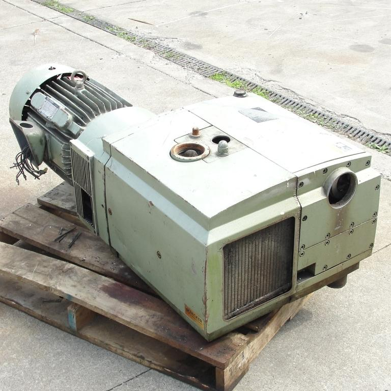 Pump 283 cfm Becker Pumps Corp vacuum pump model U4.400 SA/K 15 hp, Aluminum3