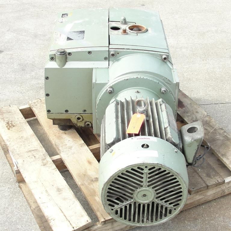 Pump 283 cfm Becker Pumps Corp vacuum pump model U4.400 SA/K 15 hp, Aluminum4