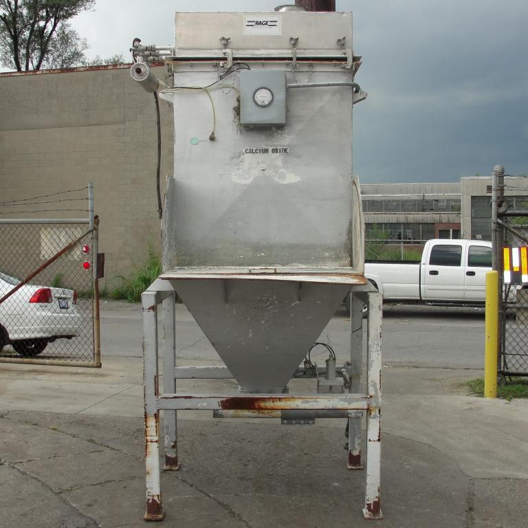 Material Handling Equipment bag dump station, 42 l x 16 w Rage Engineering Inc CS2