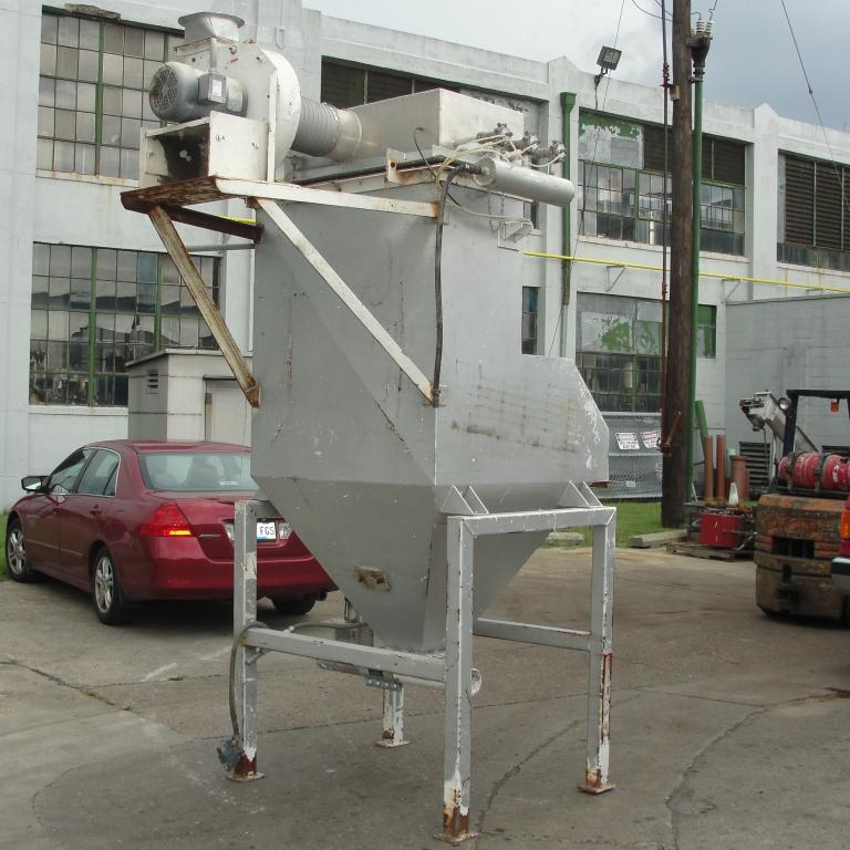 Material Handling Equipment bag dump station, 42 l x 16 w Rage Engineering Inc CS4