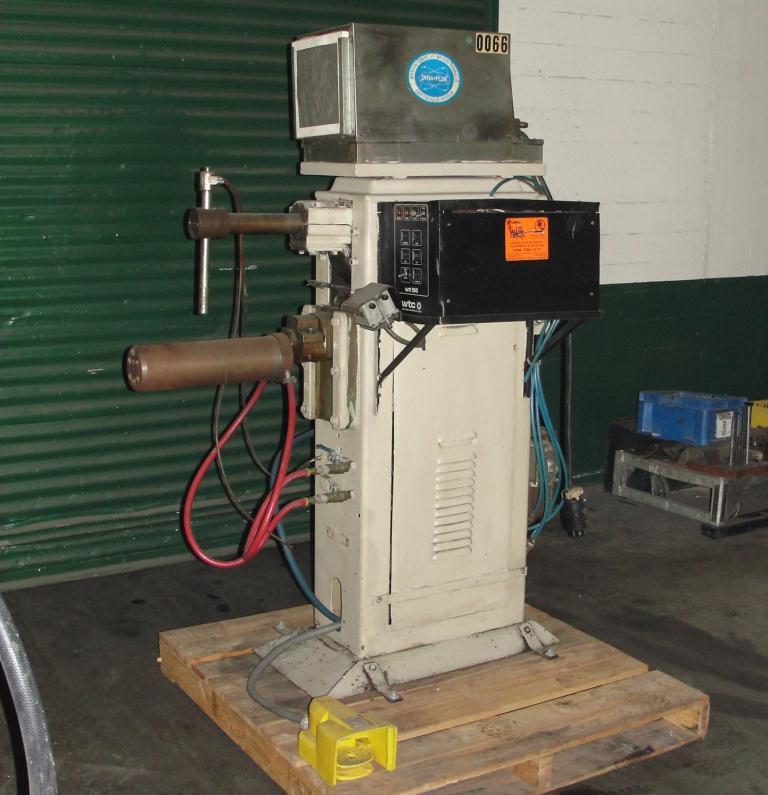 Machine Tool spot welder, 75 KVA capacity, 9 throat1