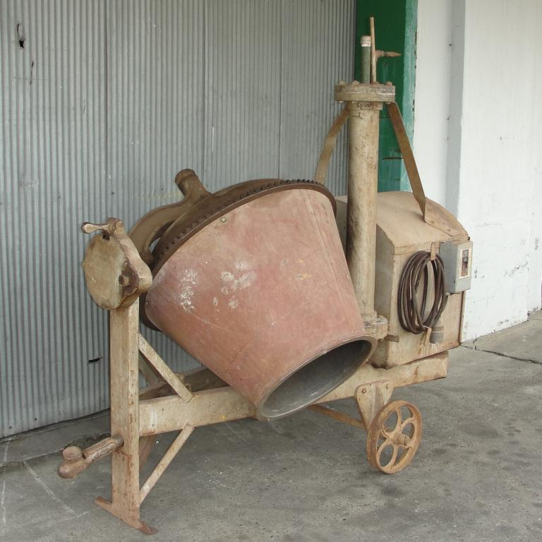 Miscellaneous Equipment concrete mixer 5 Cuft, CS4