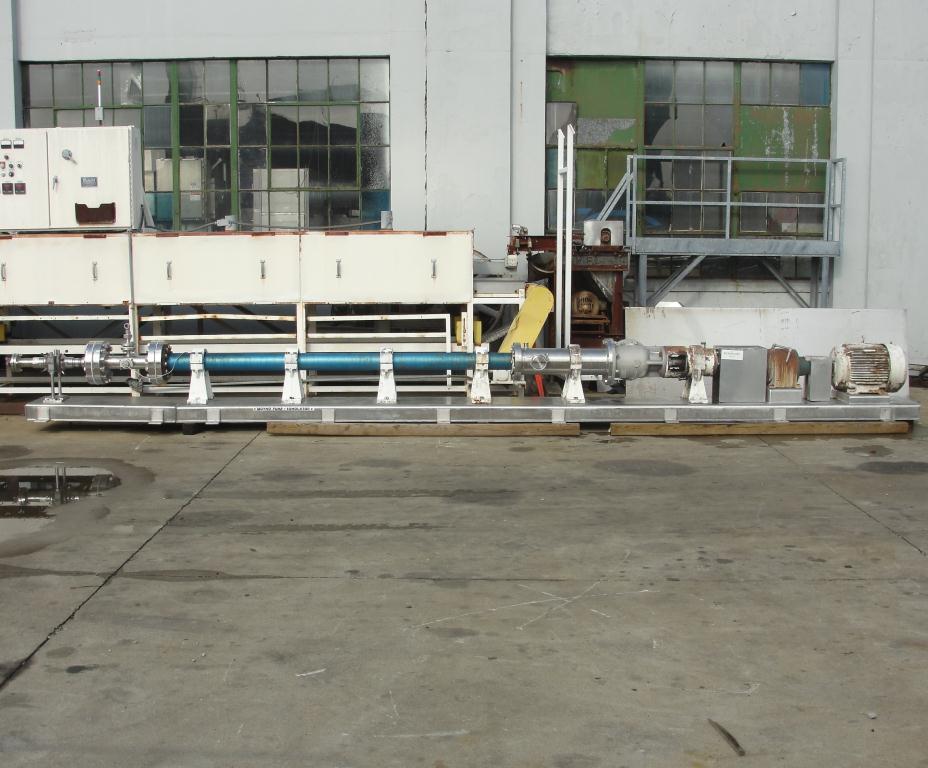 Homogenizer 40 hp Sonic Corp/Moyno inline homogenizer model XS-1500, 8 inlet, Stainless Steel1