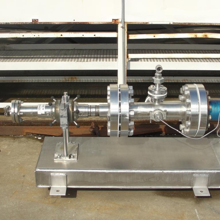 Homogenizer 40 hp Sonic Corp/Moyno inline homogenizer model XS-1500, 8 inlet, Stainless Steel4