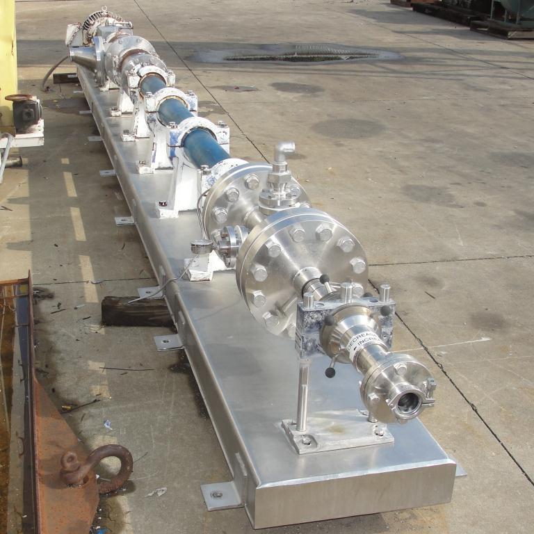 Homogenizer 40 hp Sonic Corp/Moyno inline homogenizer model XS-1500, 8 inlet, Stainless Steel5