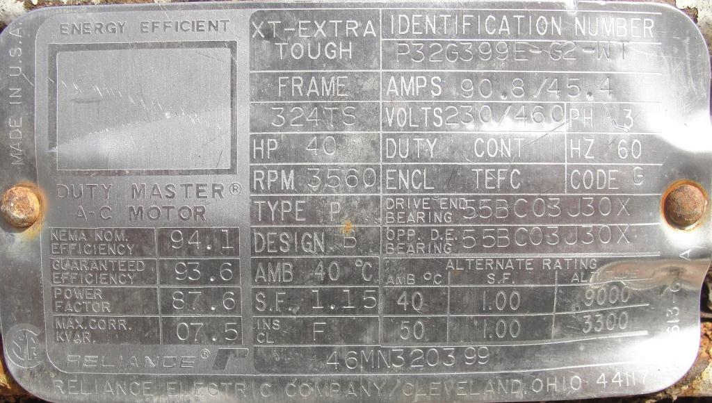 Homogenizer 40 hp Sonic Corp/Moyno inline homogenizer model XS-1500, 8 inlet, Stainless Steel7